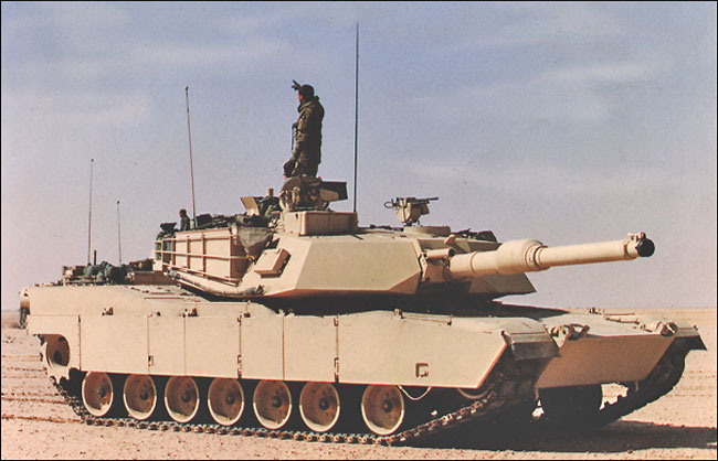 Main Battle Tank - M1, M1A1, and M1A2 Abrams
