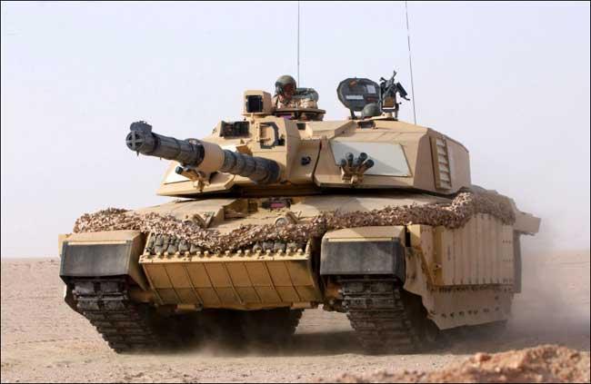 Main Battle Tank - Challenger 2